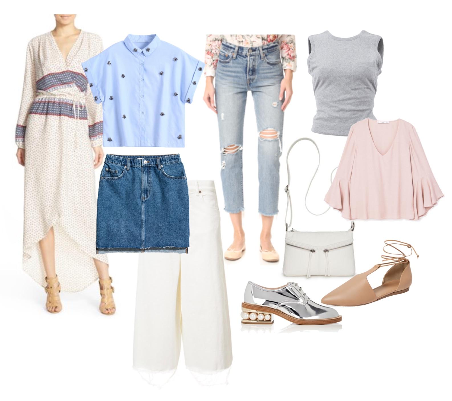 Spring/summer 17 capsule wardrobe