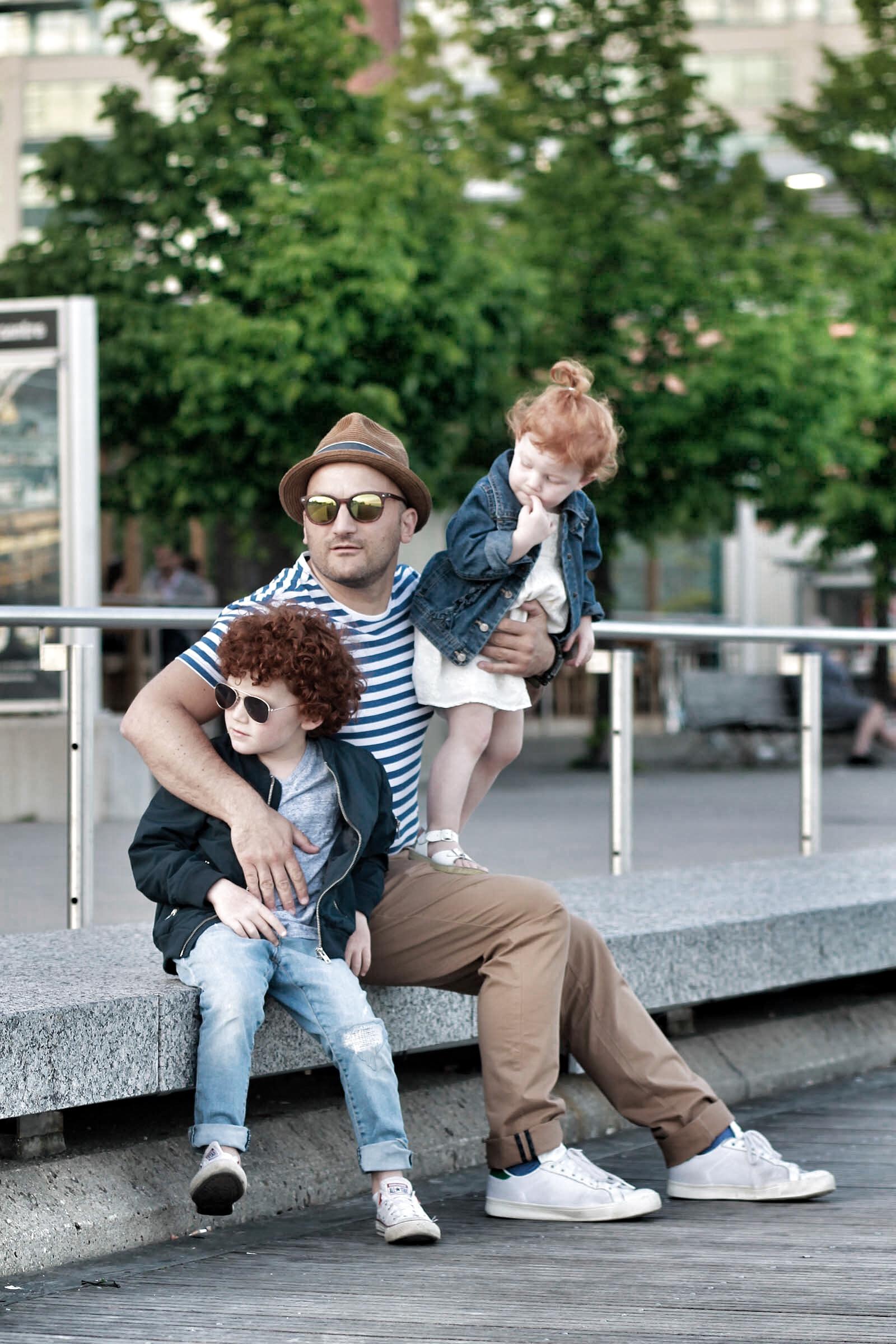 RW&CO Breton striped t-shirt + Father's Day